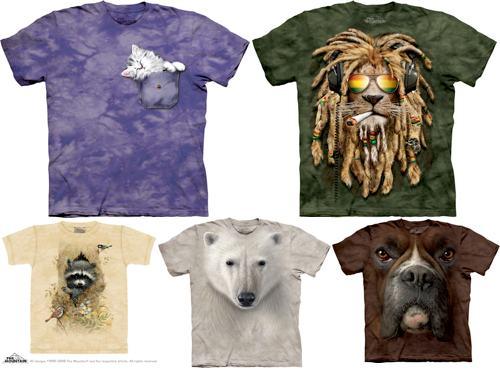Доставка, как вы понимаете, должна бы... футболки The Mountain.